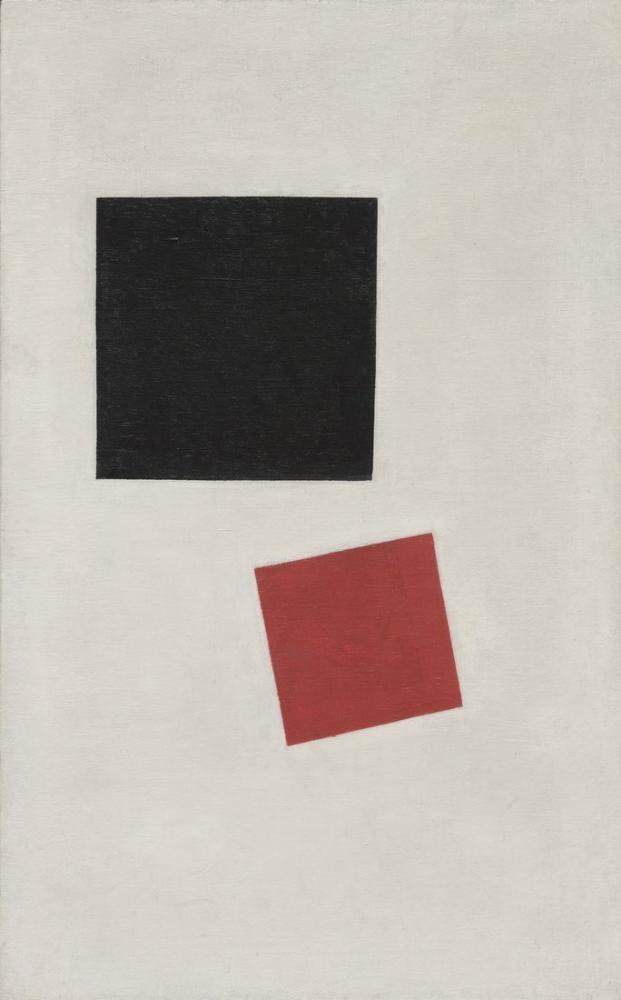 Kazimir Malevich Siyah Kare Ve Kırmızı Kare, Kanvas Tablo, Kazimir Malevich, kanvas tablo, canvas print sales