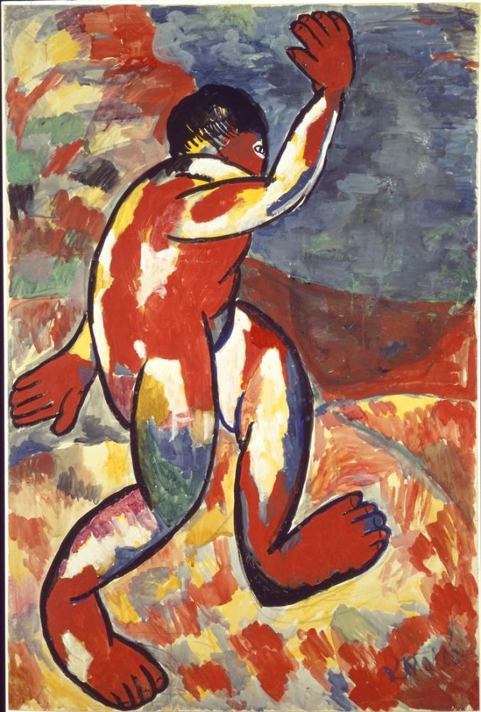 Kazimir Malevich Bather, Canvas, Kazimir Malevich, kanvas tablo, canvas print sales