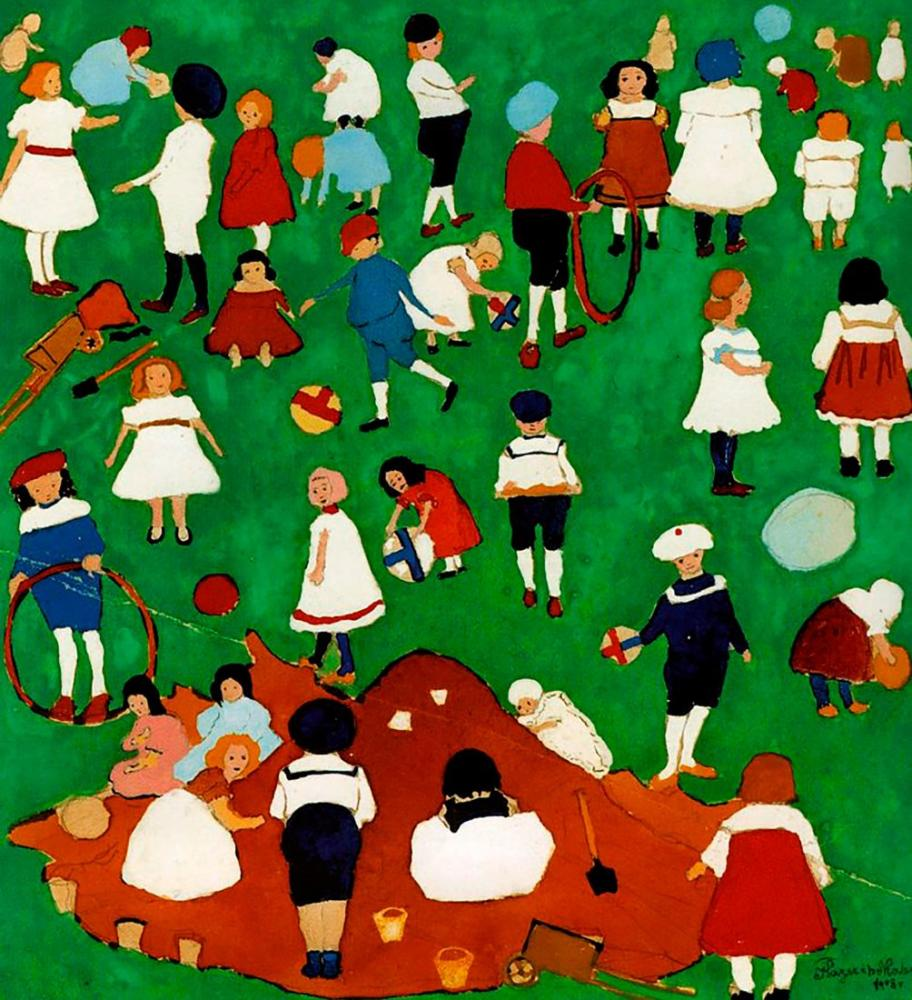 Kazimir Malevich Children, Figure, Kazimir Malevich, kanvas tablo, canvas print sales