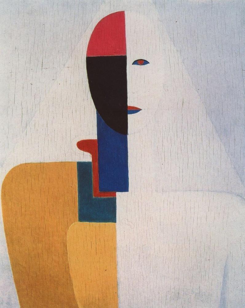 Kazimir Malevich Dişi Gövde, Kanvas Tablo, Kazimir Malevich, kanvas tablo, canvas print sales