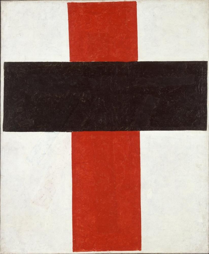 Kazimir Malevich Sıradüzen Üstünlükçü Haç, Kanvas Tablo, Kazimir Malevich, kanvas tablo, canvas print sales