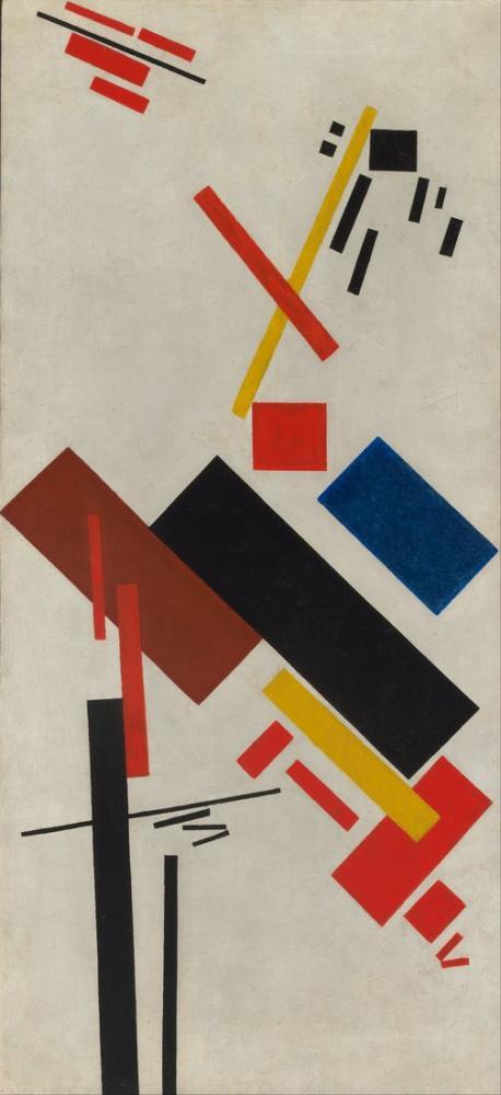 Kazimir Malevich House Under Construction, Canvas, Kazimir Malevich, kanvas tablo, canvas print sales