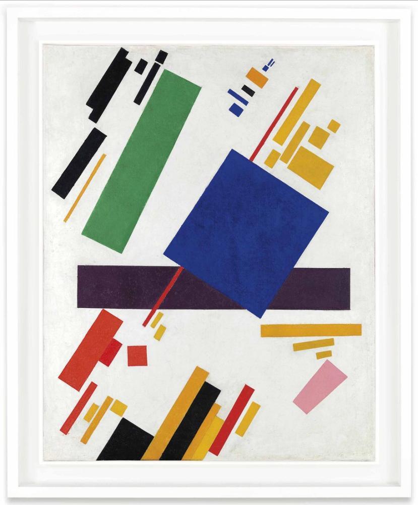 Kazimir Malevich Suprematist Kompozisyon, Kanvas Tablo, Kazimir Malevich, kanvas tablo, canvas print sales