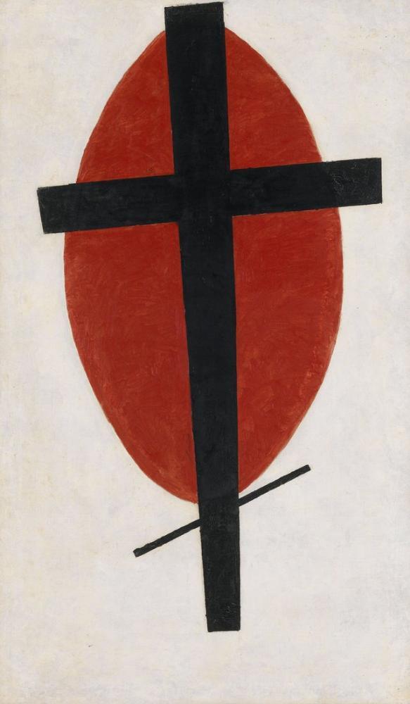 Kazimir Malevich Mistik Süprematizm, Kanvas Tablo, Kazimir Malevich, kanvas tablo, canvas print sales