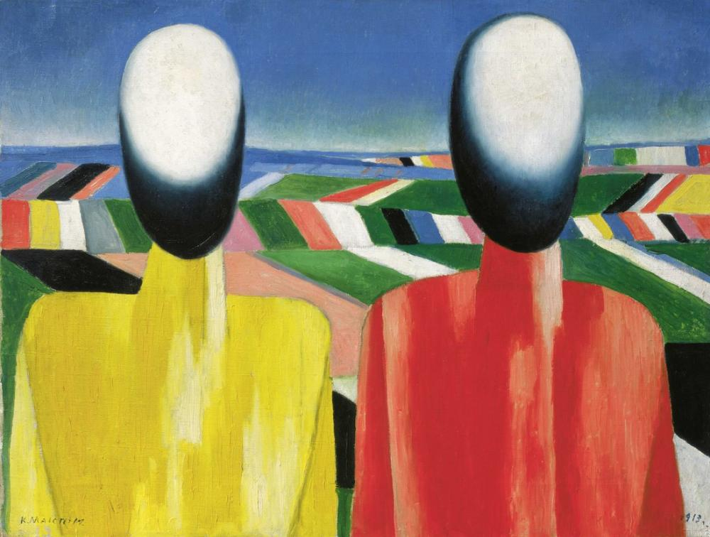 Kazimir Malevich Peasants, Figure, Kazimir Malevich, kanvas tablo, canvas print sales