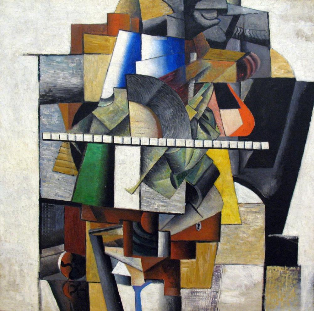 Kazimir Malevich Portrait Von Mikhail Matjuschin, Canvas, Kazimir Malevich, kanvas tablo, canvas print sales