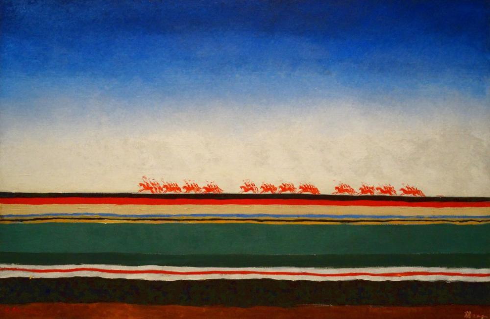 Kazimir Malevich Kırmızı Süvari Sürme, Kanvas Tablo, Kazimir Malevich, kanvas tablo, canvas print sales