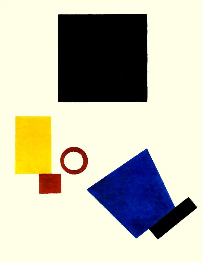 Kazimir Malevich İki Boyutta Otoportre, Kanvas Tablo, Kazimir Malevich, kanvas tablo, canvas print sales