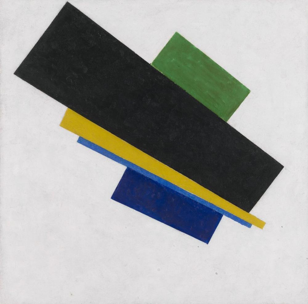 Kazimir Malevich Suprematism 18th Construction, Canvas, Kazimir Malevich, kanvas tablo, canvas print sales