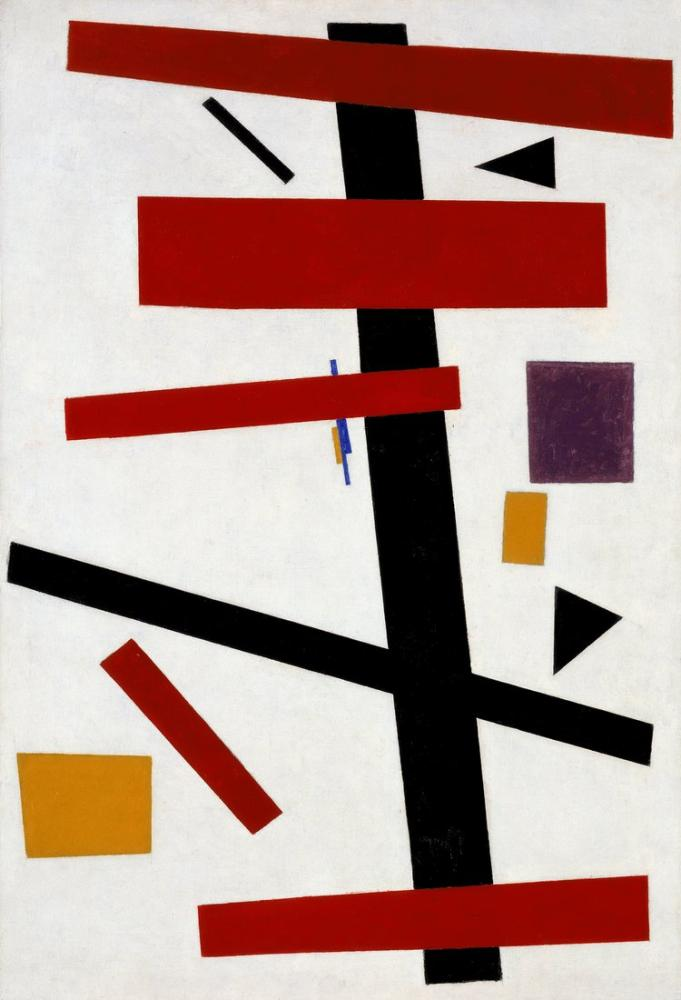 Kazimir Malevich Suprematizm No 50, Kanvas Tablo, Kazimir Malevich, kanvas tablo, canvas print sales