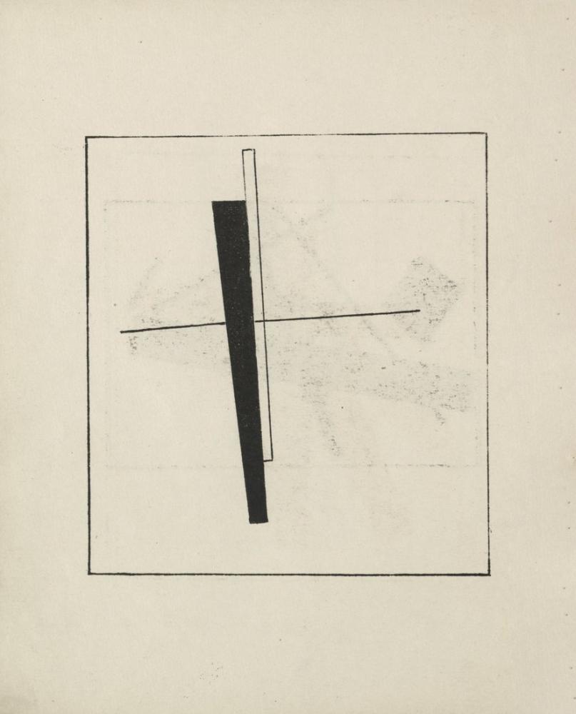 Kazimir Malevich Süprematizm Kroki VI, Kanvas Tablo, Kazimir Malevich, kanvas tablo, canvas print sales
