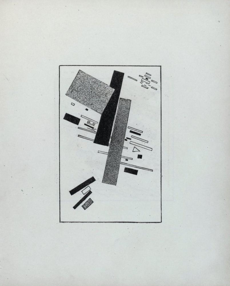 Kazimir Malevich Suprematizm Kroki XIV, Kanvas Tablo, Kazimir Malevich, kanvas tablo, canvas print sales