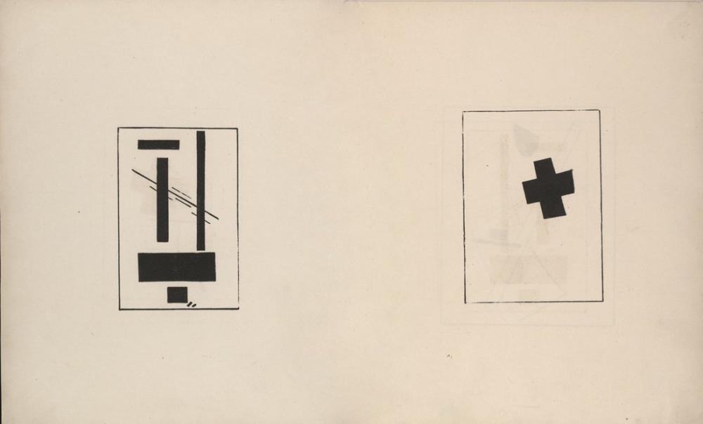 Kazimir Malevich Suprematizm Kroki XXX, Kanvas Tablo, Kazimir Malevich, kanvas tablo, canvas print sales