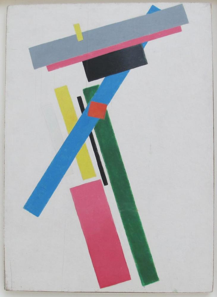 Kazimir Malevich Suprematist Construction of Colors, Canvas, Kazimir Malevich, kanvas tablo, canvas print sales