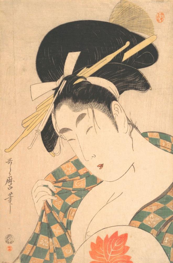 Kitagawa Utamaro, Beauty, Canvas, Kitagawa Utamaro, kanvas tablo, canvas print sales