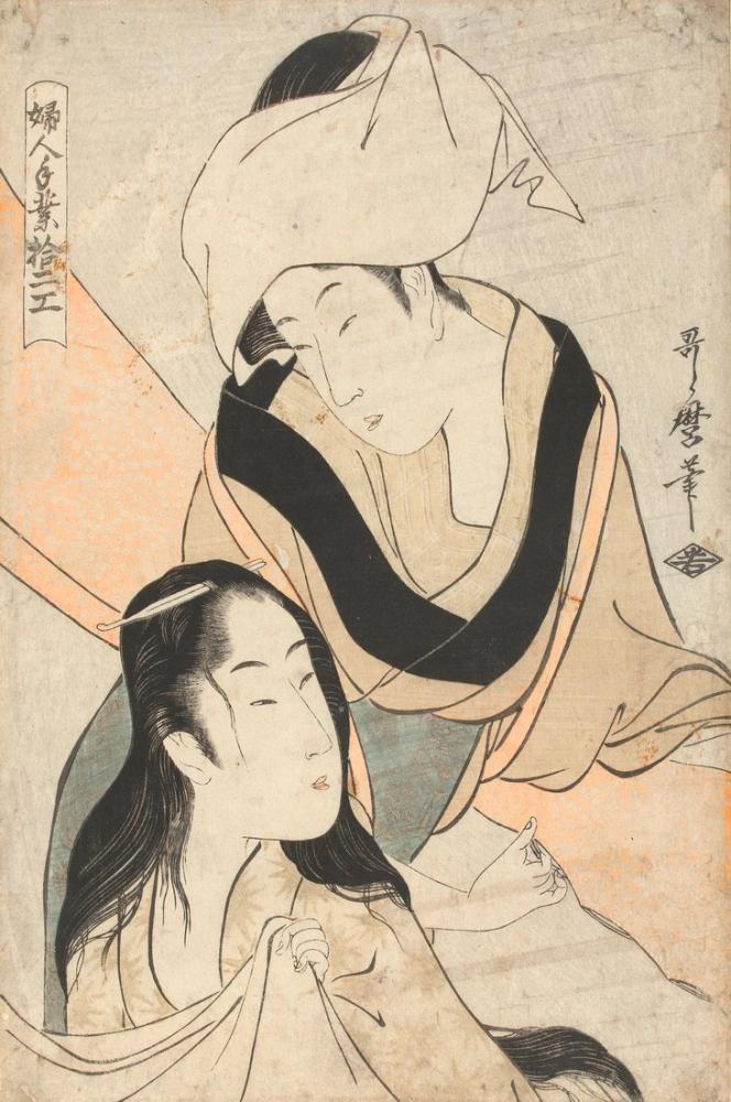 Kitagawa Utamaro, Doeken spannen, Canvas, Kitagawa Utamaro, kanvas tablo, canvas print sales