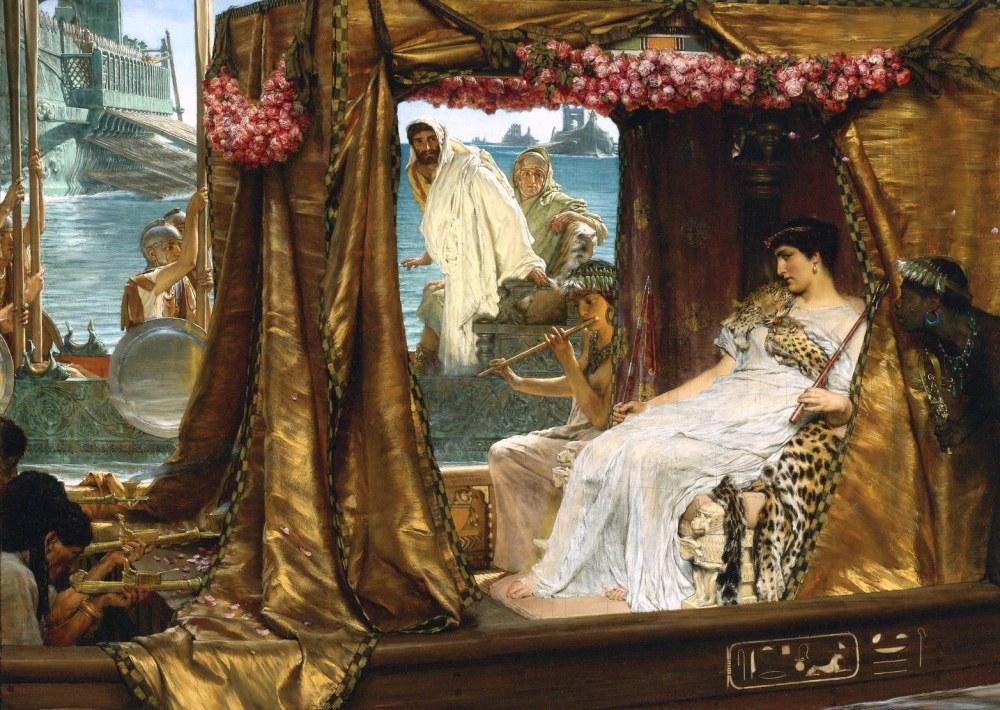 Antony and Kleopatra, Lawrence Alma-Tadema, Kanvas Tablo, Lawrence Alma-Tadema, kanvas tablo, canvas print sales