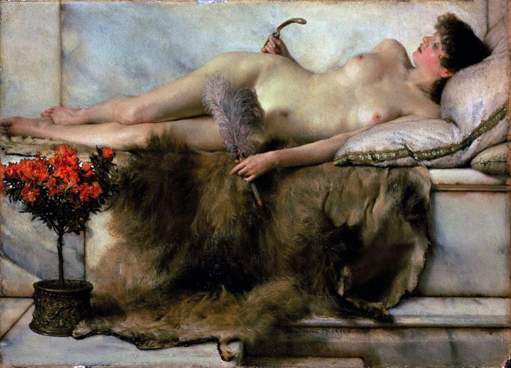 Tepidaryum da, Lawrence Alma-Tadema, Kanvas Tablo, Lawrence Alma-Tadema, kanvas tablo, canvas print sales