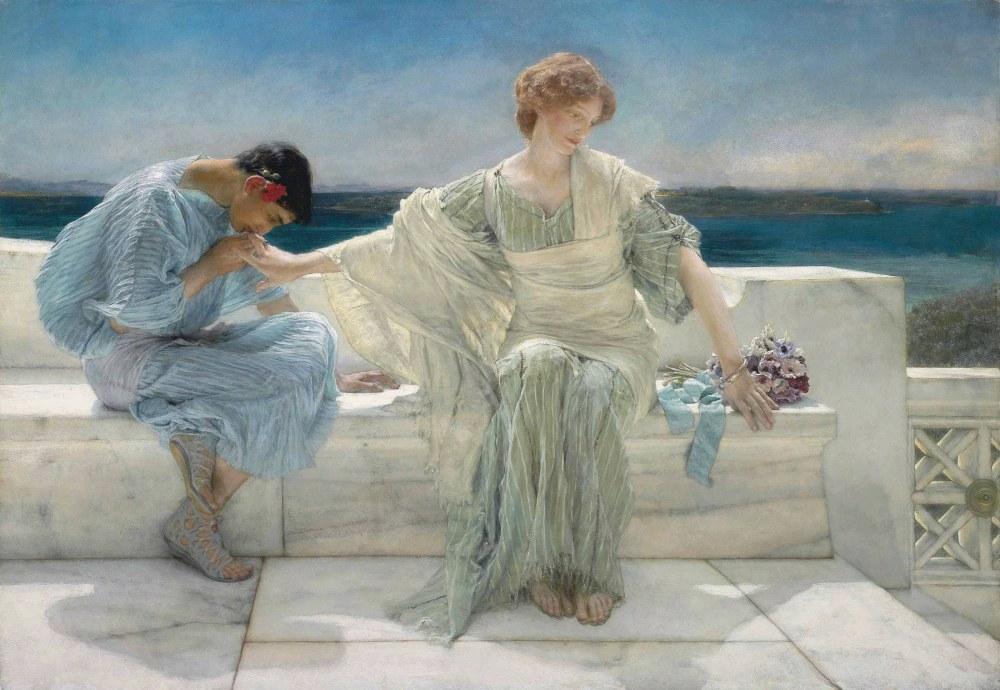 Bana Daha Fazla Sorma, Lawrence Alma-Tadema, Kanvas Tablo, Lawrence Alma-Tadema, kanvas tablo, canvas print sales