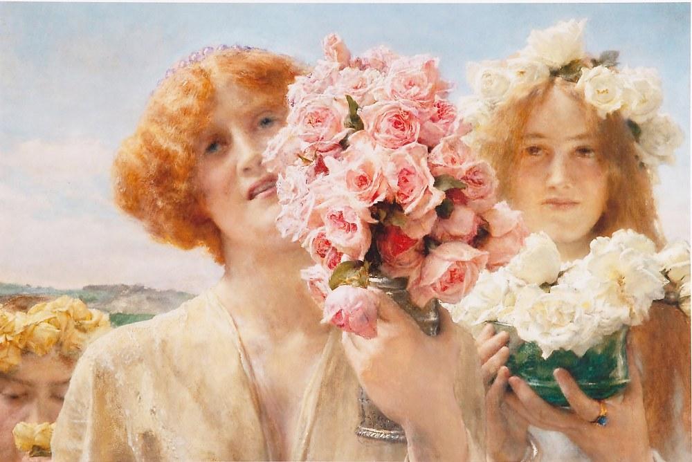 Summer Offering, Lawrence Alma-Tadema, Canvas, Lawrence Alma-Tadema, kanvas tablo, canvas print sales