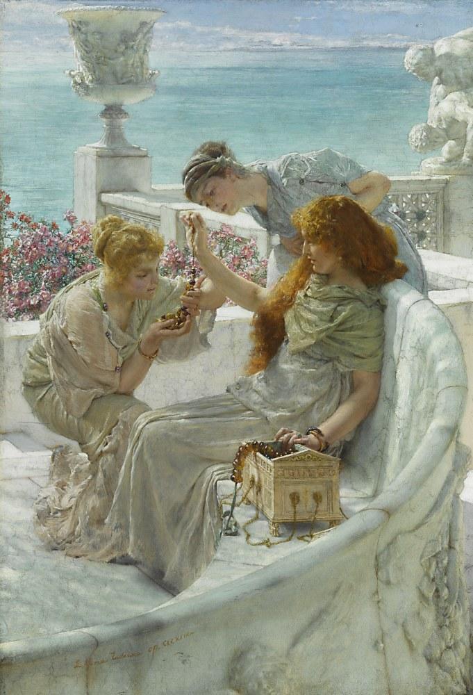 Fortune s Favourite, Lawrence Alma-Tadema, Canvas, Lawrence Alma-Tadema, kanvas tablo, canvas print sales