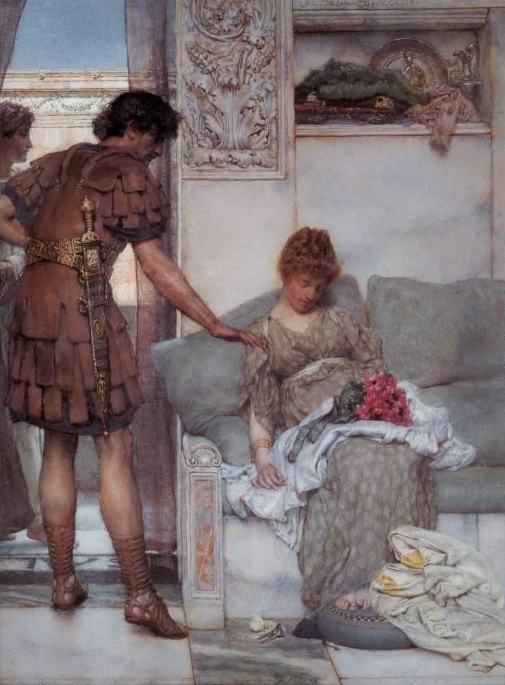 Sessiz Bir Kutlama, Lawrence Alma-Tadema, Kanvas Tablo, Lawrence Alma-Tadema, kanvas tablo, canvas print sales