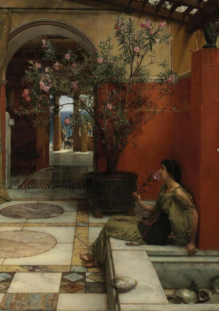 Bir Zakkum, Lawrence Alma-Tadema, Kanvas Tablo, Lawrence Alma-Tadema, kanvas tablo, canvas print sales
