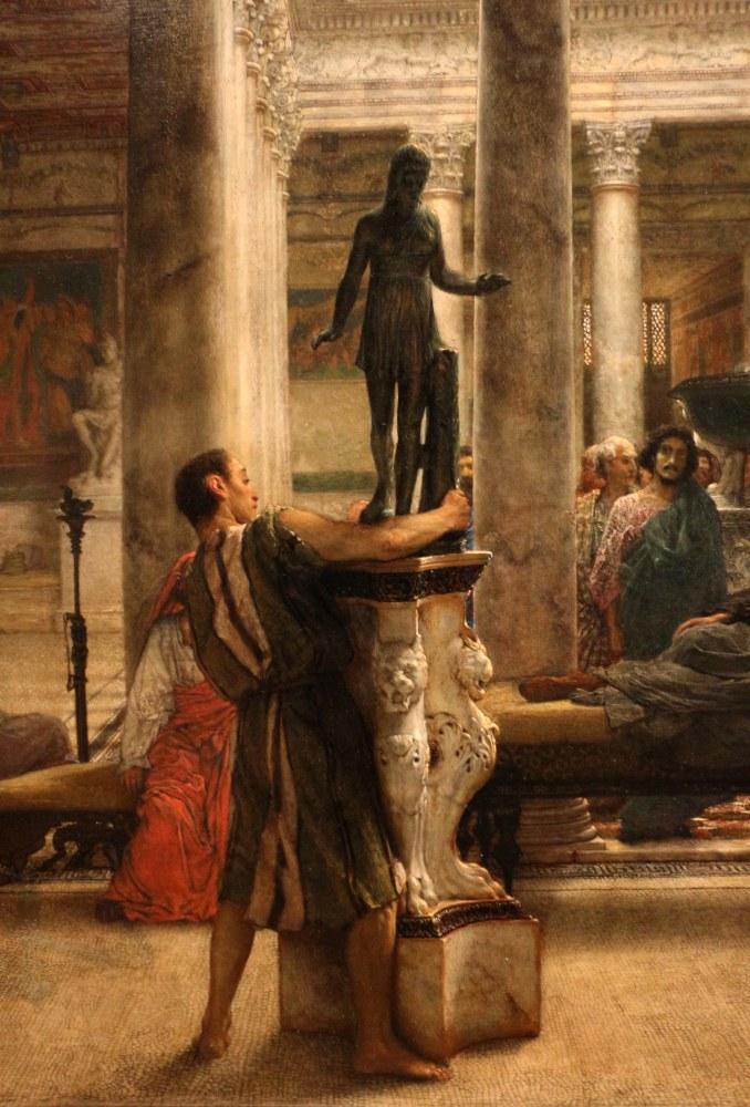 Romalı Bir Sanatsever, Lawrence Alma-Tadema, Kanvas Tablo, Lawrence Alma-Tadema, kanvas tablo, canvas print sales