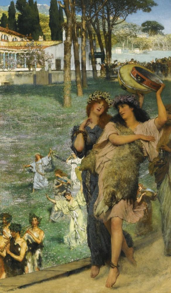 On The Road, Lawrence Alma-Tadema, Canvas, Lawrence Alma-Tadema, kanvas tablo, canvas print sales