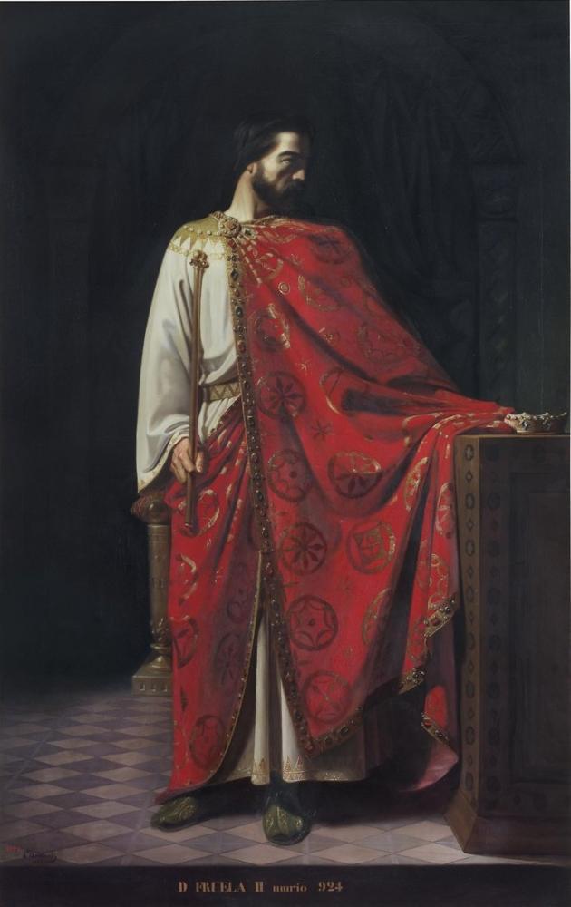 Leon Bonnat Fruela II, Canvas, Léon Bonnat, kanvas tablo, canvas print sales
