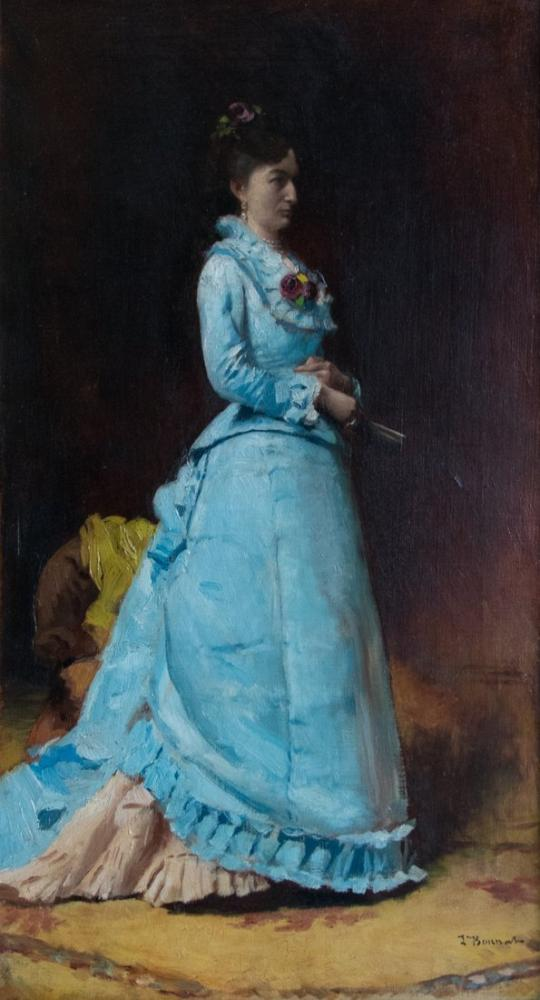 Leon Bonnat Portrait De Femme, Canvas, Léon Bonnat, kanvas tablo, canvas print sales