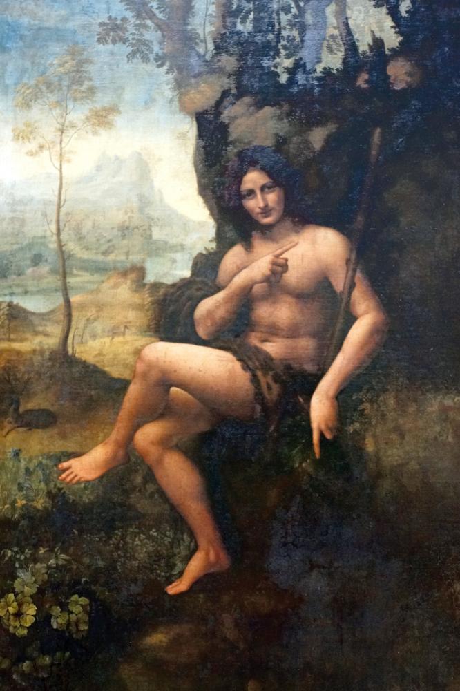 Vaftizci Yahya, Leonardo da Vinci, Kanvas Tablo, Leonardo Da Vinci, kanvas tablo, canvas print sales