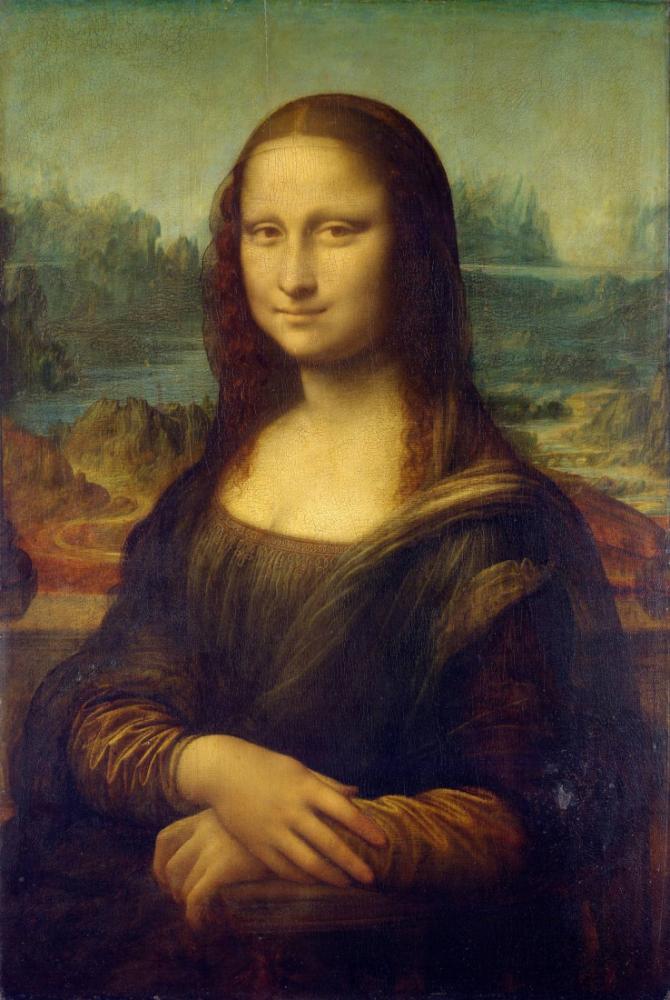 Mona Lisa, Leonardo da Vinci, Kanvas Tablo, Leonardo Da Vinci