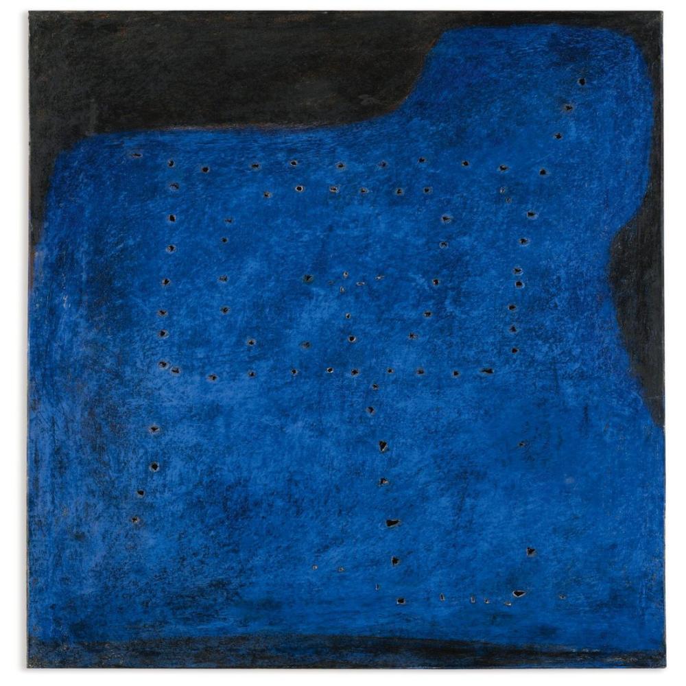 Lucio Fontana, Concetto Spaziale, I Muri, Kanvas Tablo, Lucio Fontana, kanvas tablo, canvas print sales