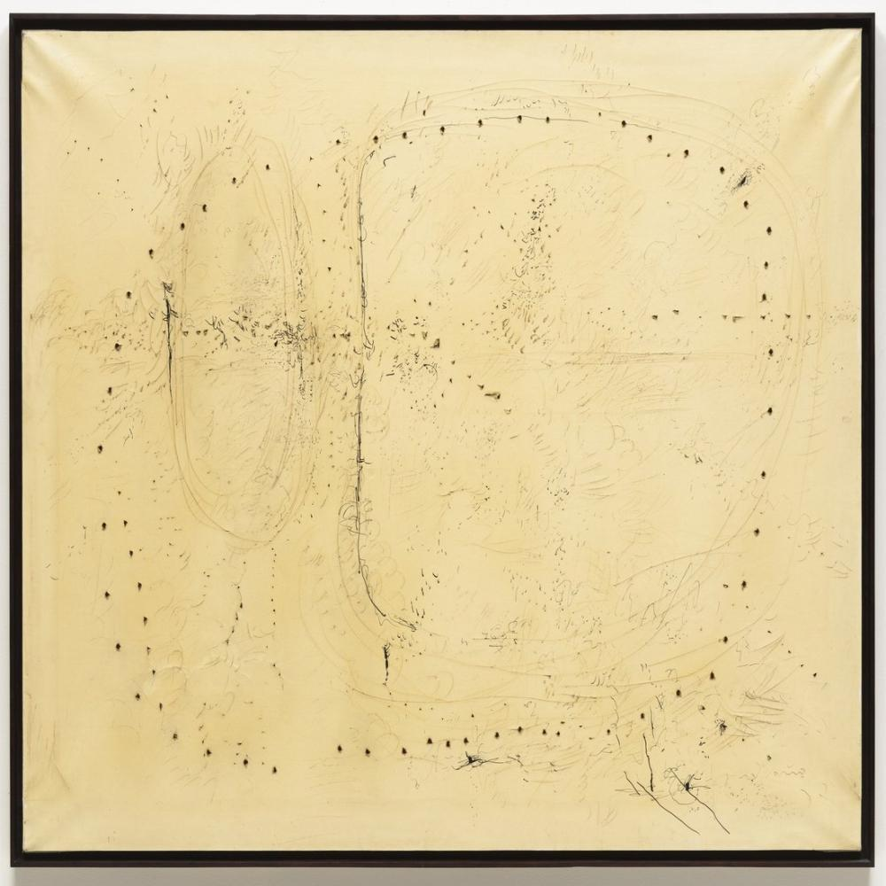 Lucio Fontana, Spatial Concept Concetto Spaziale, Kanvas Tablo, Lucio Fontana, kanvas tablo, canvas print sales