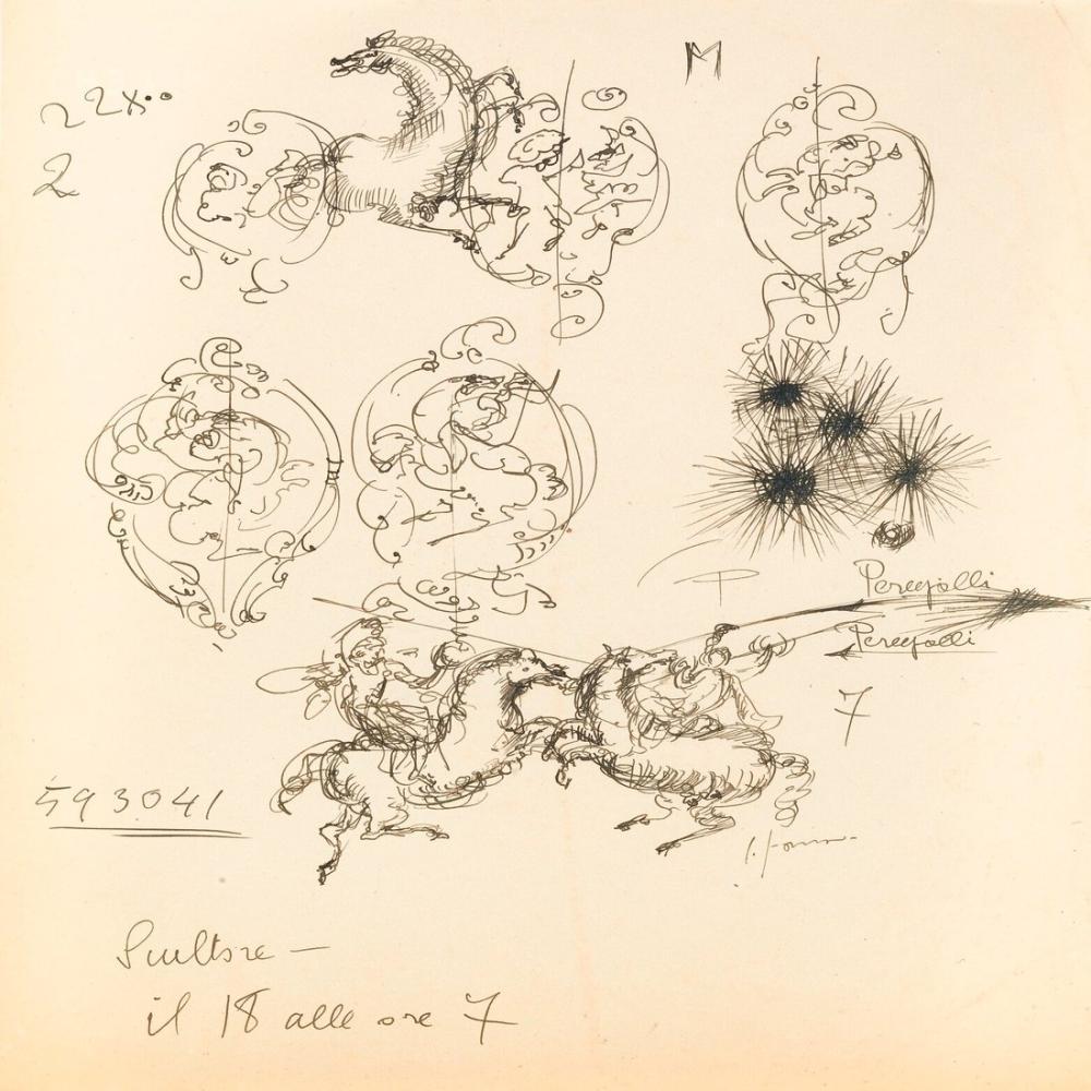 Lucio Fontana, Io Ssono Fontana, Kanvas Tablo, Lucio Fontana, kanvas tablo, canvas print sales