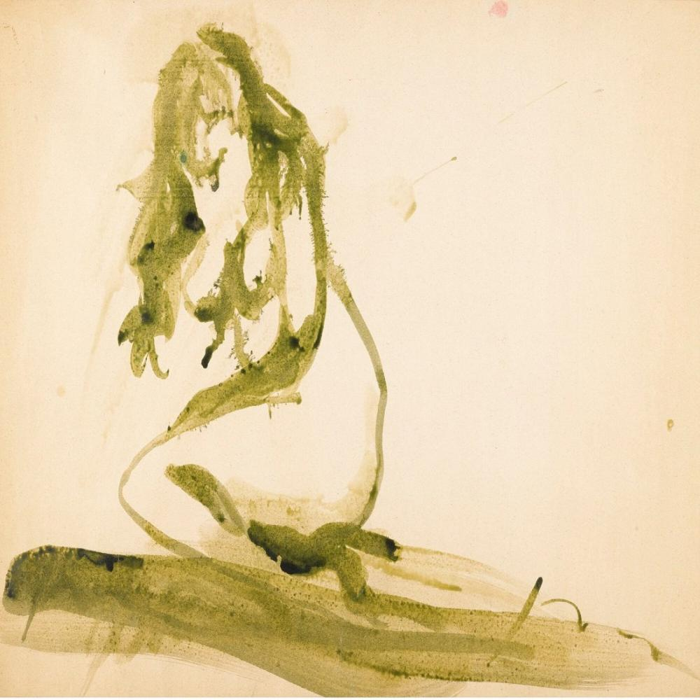 Lucio Fontana, Untitled Nudo, Figure, Lucio Fontana, kanvas tablo, canvas print sales