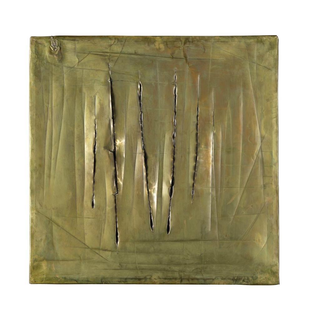 Lucio Fontana, Concetto Spaziale, New York, Kanvas Tablo, Lucio Fontana, kanvas tablo, canvas print sales