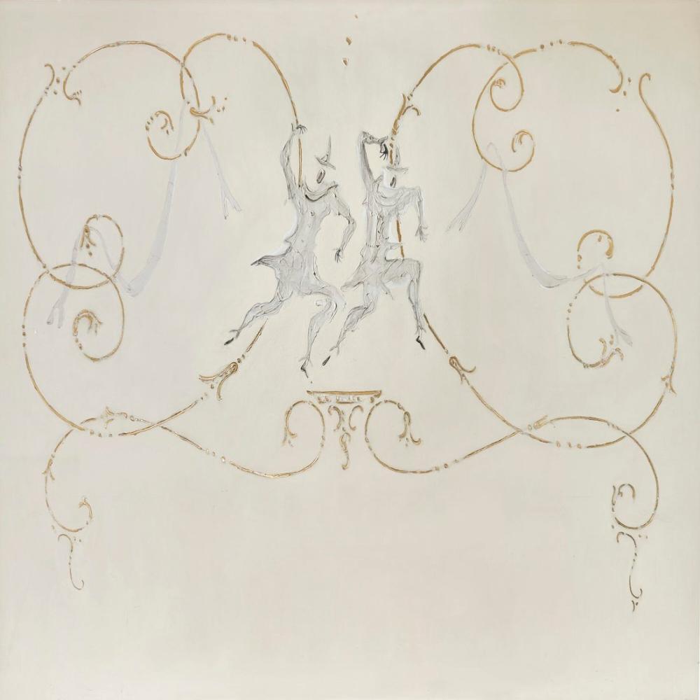 Lucio Fontana, Decorazione Ete: Arlecchini, Figür, Lucio Fontana, kanvas tablo, canvas print sales