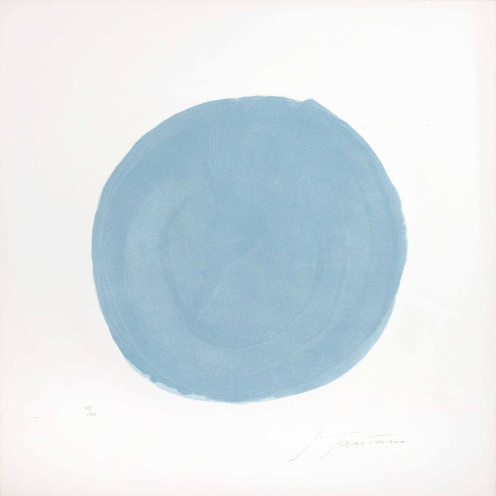 Lucio Fontana, Nudo azzurro, Kanvas Tablo, Lucio Fontana, kanvas tablo, canvas print sales