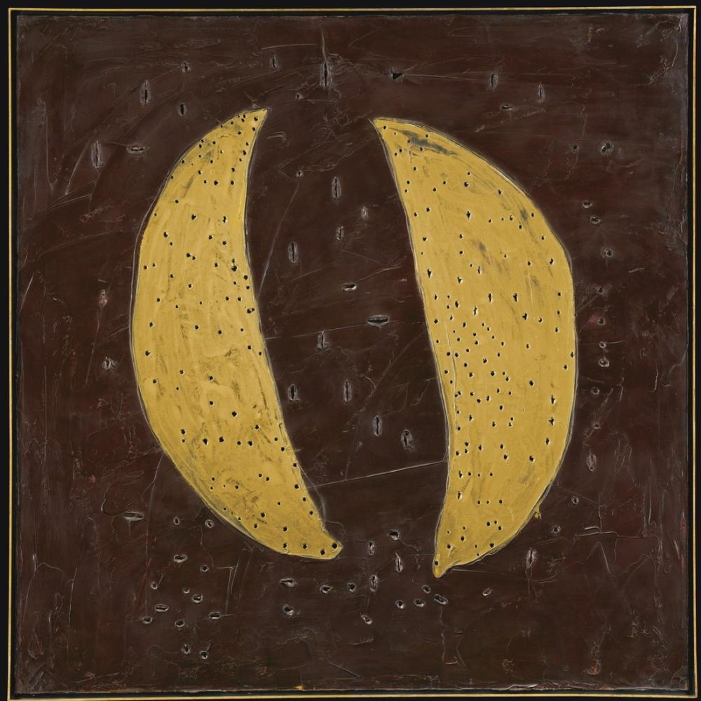 Lucio Fontana, Concetto Spaziale, Le Chiese Di Venezia, Kanvas Tablo, Lucio Fontana, kanvas tablo, canvas print sales