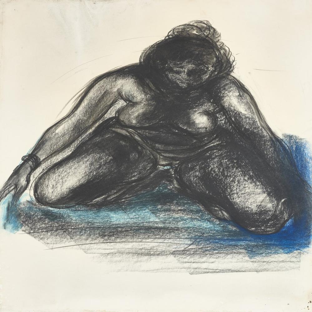 Lucio Fontana, Nudo femminile 1, Figür, Lucio Fontana, kanvas tablo, canvas print sales
