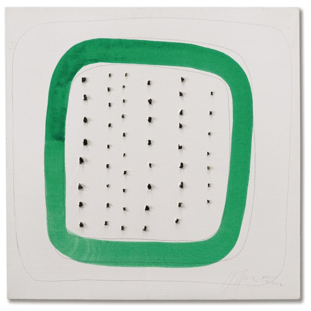 Lucio Fontana, Dedicated On The Reverse, Kanvas Tablo, Lucio Fontana, kanvas tablo, canvas print sales