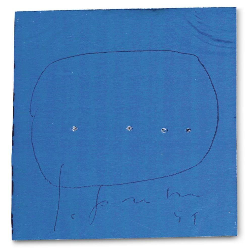Lucio Fontana, La Lune En Rodage, Kanvas Tablo, Lucio Fontana, kanvas tablo, canvas print sales