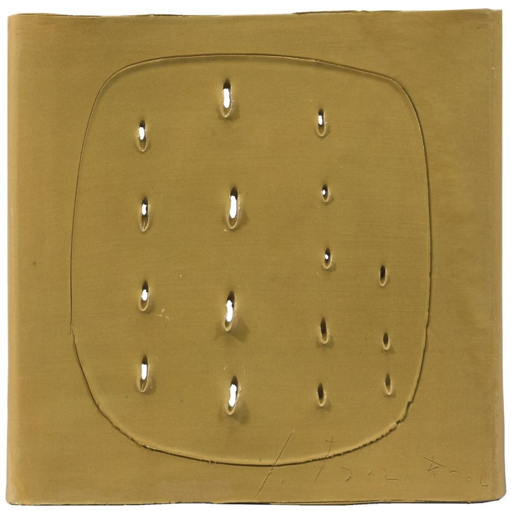Lucio Fontana, Untitled, Kanvas Tablo, Lucio Fontana, kanvas tablo, canvas print sales