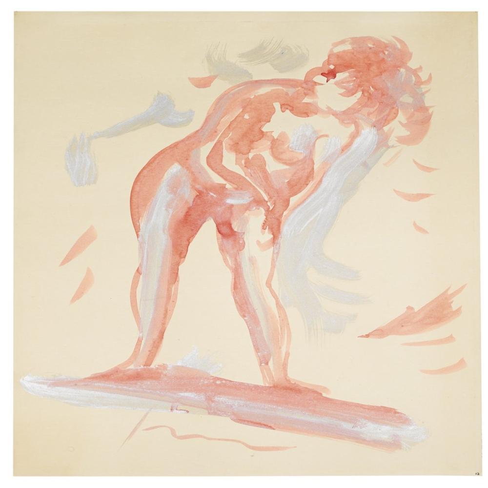 Lucio Fontana, Nudo femminile 2, Kanvas Tablo, Lucio Fontana, kanvas tablo, canvas print sales