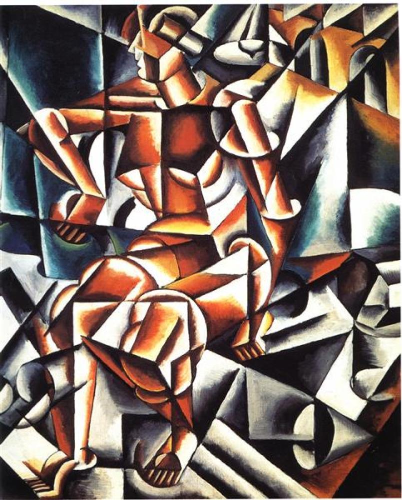 Lyubov Popova Air Man Space, Canvas, Lyubov Popova