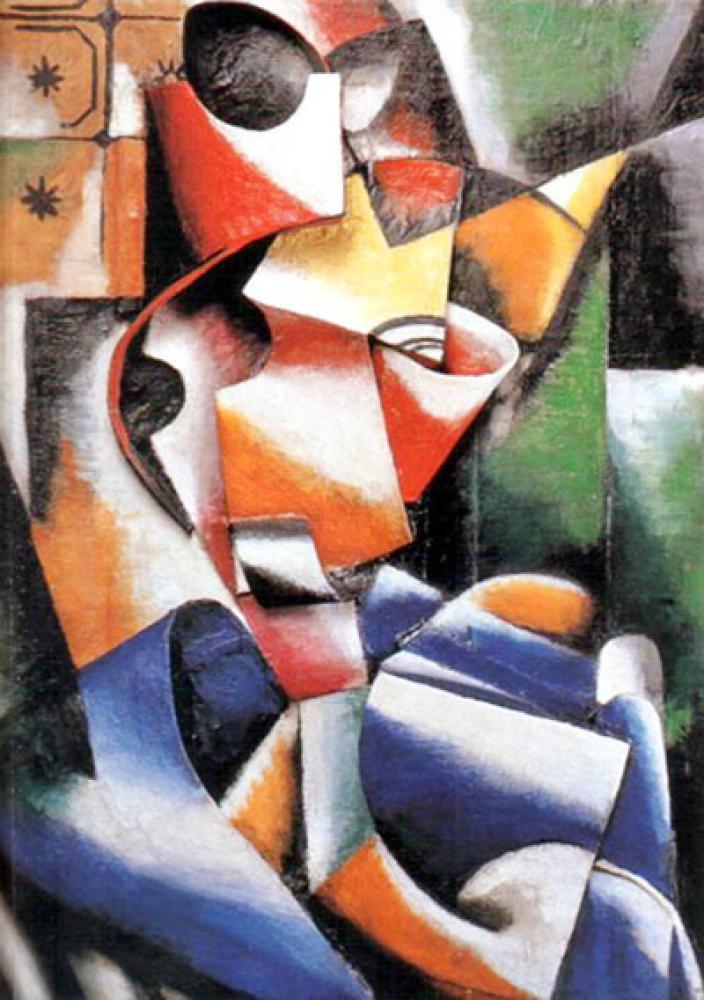 Lyubov Popova Relief, Canvas, Lyubov Popova