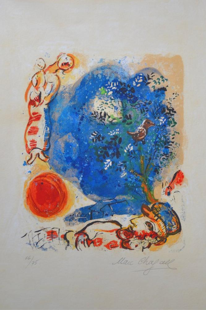 Marc Chagall Le Paysan, Figure, Marc Chagall, kanvas tablo, canvas print sales
