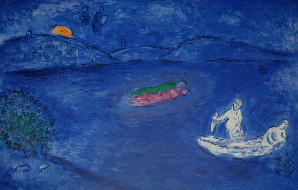 Marc Chagall Uzun, Figür, Marc Chagall, kanvas tablo, canvas print sales